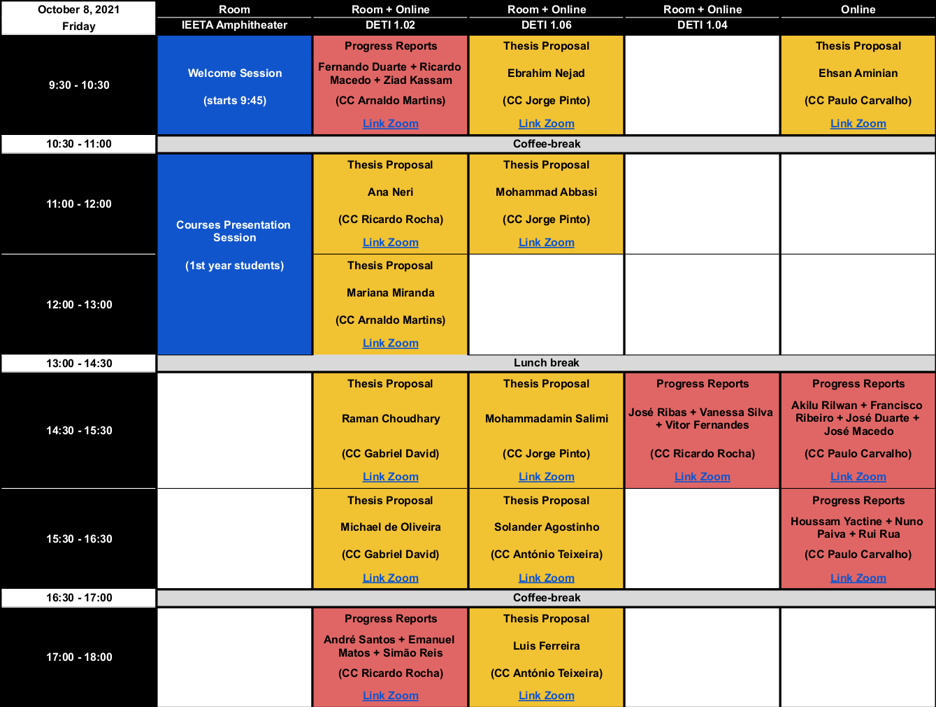 Symposium 2021 Program